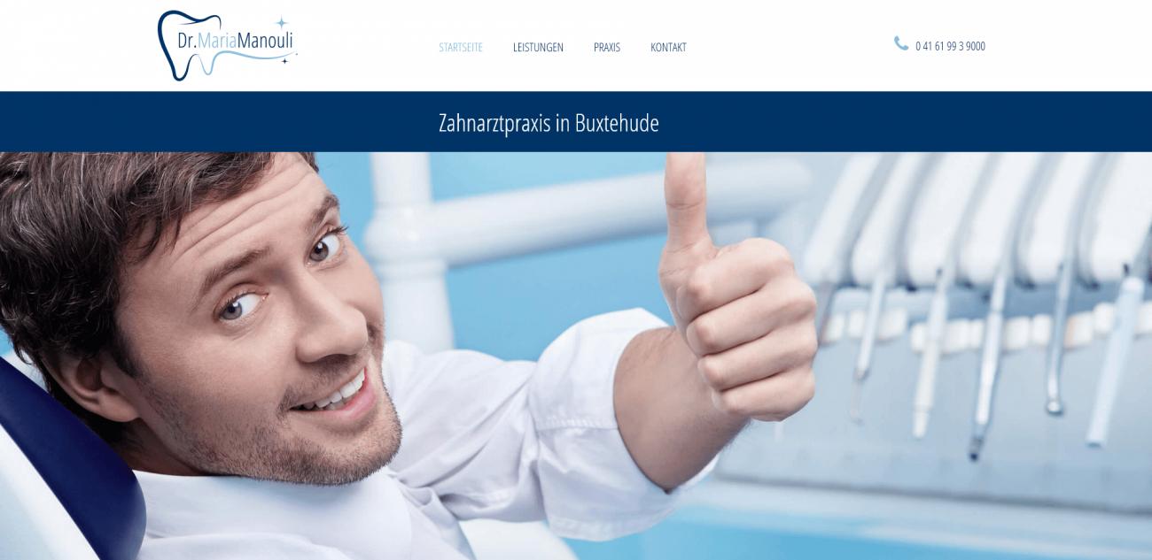 Website Vorlage Arzt